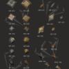 Sew On Antique Metal Stones