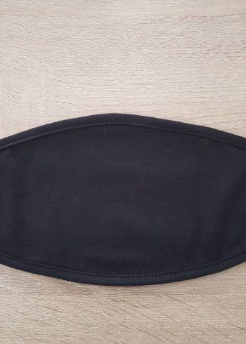 7 Μάσκες πολλαπλών χρήσεων, μαύρη απλή